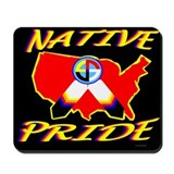 NATIVE PRIDE Mousepad