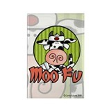 Moo Fu Rectangle Magnet