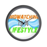 Funny Birdwatching lifestyle Wall Clock