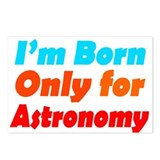 Born only for Astronomy Postcards (Package of 8)