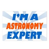 Astronomy expert Postcards (Package of 8)