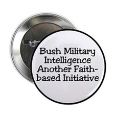 Bush military intelligence Button