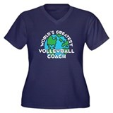 World's Greatest Volle.. (G) Women's Plus Size V-N