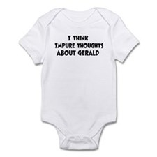 Cute Impure thoughts Infant Bodysuit