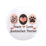 Peace Love Australian Terrier 3.5