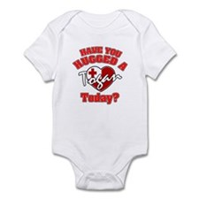Have you hugged a Tongan today? Infant Bodysuit