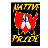 NATIVE PRIDE Postcards (Package of 8)