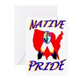 NATIVE PRIDE Greeting Cards (Pk of 10)
