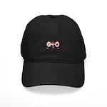 Peace Love Bearded Collie Black Cap