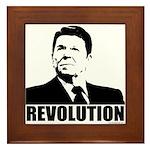 Reagan Revolution Framed Tile