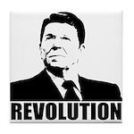 Reagan Revolution Tile Coaster