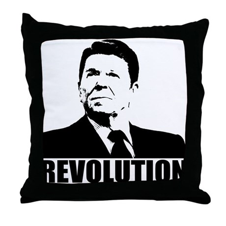 Reagan Revolution Throw Pillow
