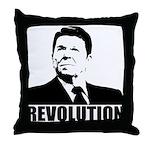 Reagan Revolution Throw Pillow