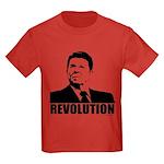 Reagan Revolution Kids Dark T-Shirt
