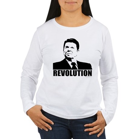 Reagan Revolution Women's Long Sleeve T-Shirt