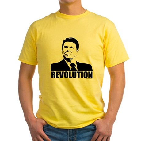 Reagan Revolution Yellow T-Shirt