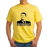 Reagan Revolution Yellow T-Shirt