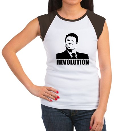 Reagan Revolution Women's Cap Sleeve T-Shirt