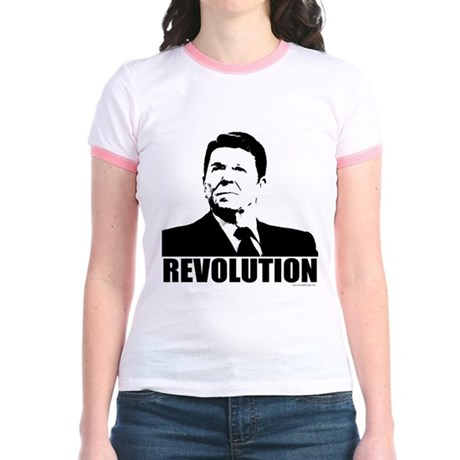 Reagan Revolution Jr. Ringer T-Shirt