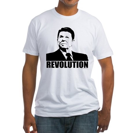 Reagan Revolution Fitted T-Shirt