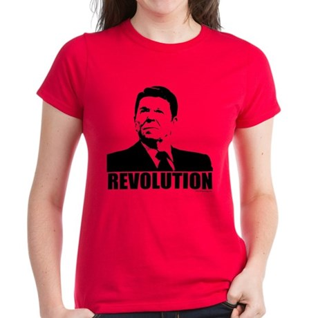 Reagan Revolution Women's Dark T-Shirt