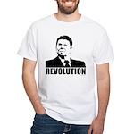 Reagan Revolution White T-Shirt