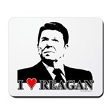 I Heart Reagan Mousepad