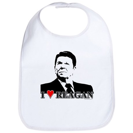 I Heart Reagan Bib