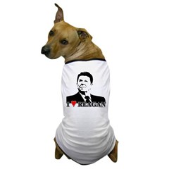 I Heart Reagan Dog T-Shirt