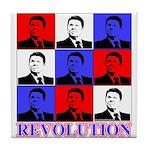 Reagan Revolution Pop Art Tile Coaster