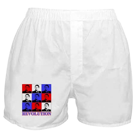Reagan Revolution Pop Art Boxer Shorts