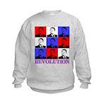 Reagan Revolution Pop Art Kids Sweatshirt