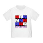 Reagan Revolution Pop Art Toddler T-Shirt