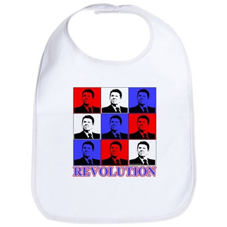 Reagan Revolution Pop Art Bib
