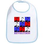 Reagan Revolution Pop Art Bib