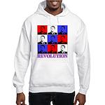 Reagan Revolution Pop Art Hooded Sweatshirt
