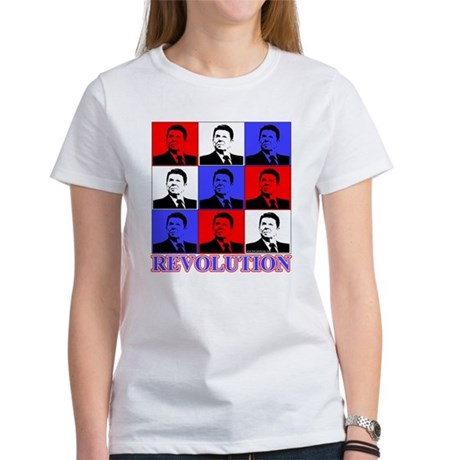 Reagan Revolution Pop Art Women's T-Shirt