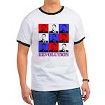 Reagan Revolution Pop Art Ringer T