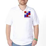 Reagan Revolution Pop Art Golf Shirt