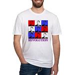 Reagan Revolution Pop Art Fitted T-Shirt