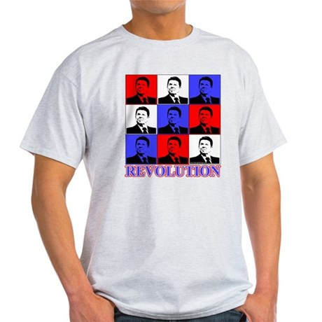 Reagan Revolution Pop Art Light T-Shirt