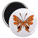 """Butterfly Tattoo 2.25"""" Magnet (100 pack)"""