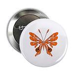 "Butterfly Tattoo 2.25"" Button"