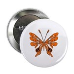 """Butterfly Tattoo 2.25"""" Button (10 pack)"""