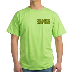 Sith Lords and Physics Green T-Shirt