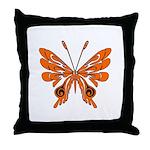 Butterfly Tattoo Throw Pillow