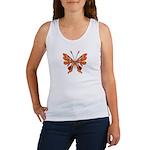 Butterfly Tattoo Women's Tank Top
