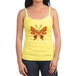 Butterfly Tattoo Jr. Spaghetti Tank