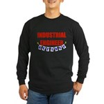 Retired Industrial Engineer Long Sleeve Dark T-Shi