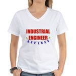 Retired Industrial Engineer Women's V-Neck T-Shirt